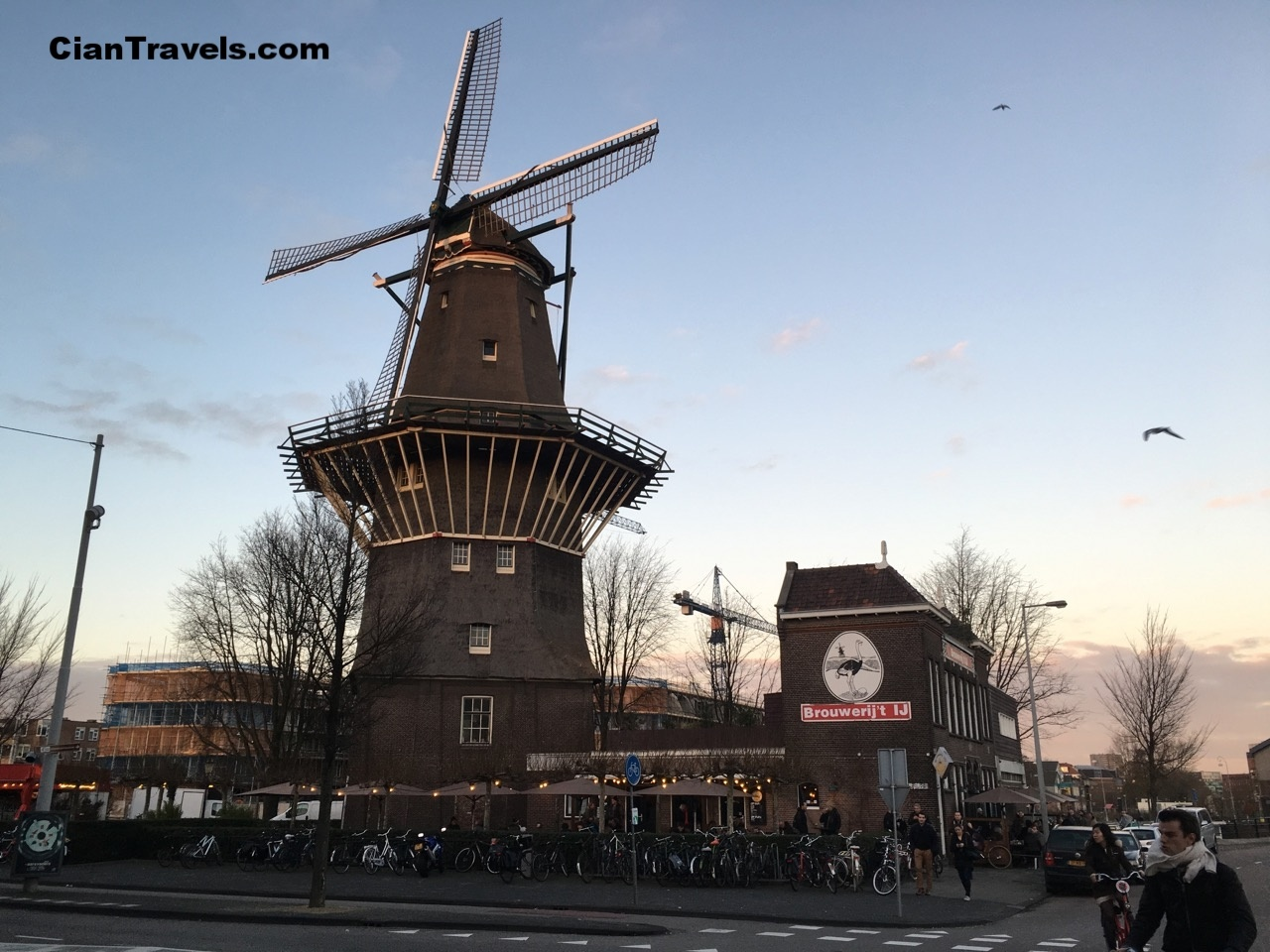 Brouwerij't IJ, a windmill/bar/brewery in Amsterdam