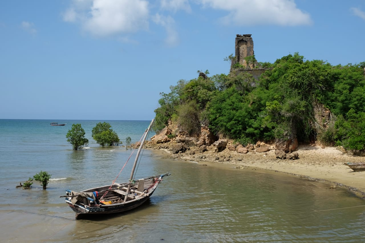 A dhow near the Mangrove Eco Lodge.jpg
